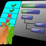 diagrama de gantt con Microsoft project